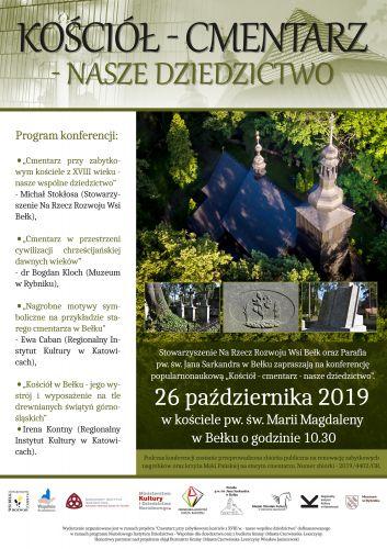 Kościół - cmentarz - nasze wspólne dziedzictwo