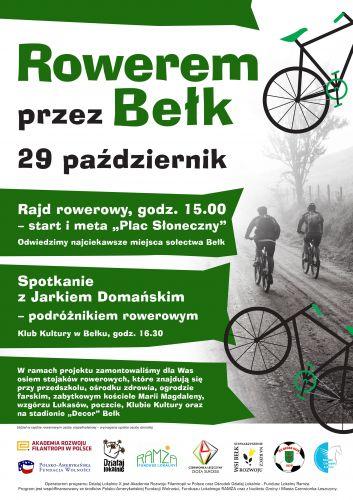 Rajd rowerowy oraz spotkanie z podróżnikiem...