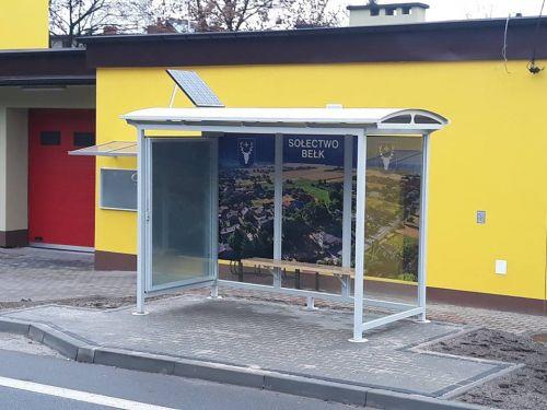 Nowe przystanki autobusowe na terenie sołectwa
